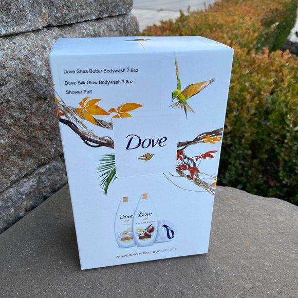 NIB LOT OF 5 Dove Pampering Ritual Duo 3 Pcs Gift